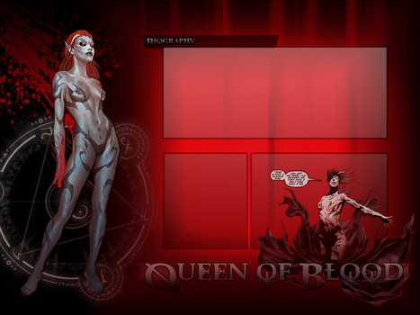 Queen of Blood by Harlequin0fHate