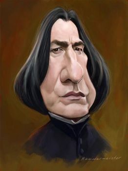 Snape by markdraws