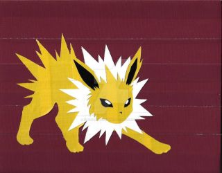Jolteon Print by DuctileCreations