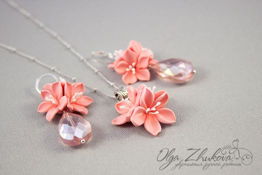 flowers from polymer clay by polyflowers