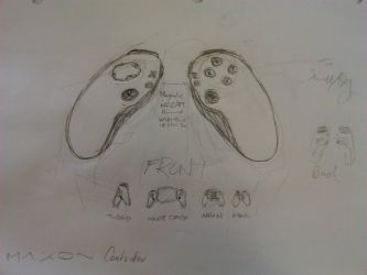 Maxon - Revised Controller Concept by three3world