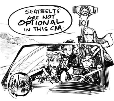FFXV x Tyranny - Bachelor Party Road Trip by aimo