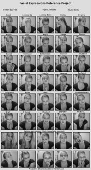 Facial Expressions Project by EyaTree
