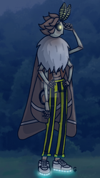 Unnamed moth guy by LilBanbozie