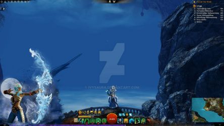 Guild Wars 2 Overlay | Chat Cover Ranger by Ivysaura