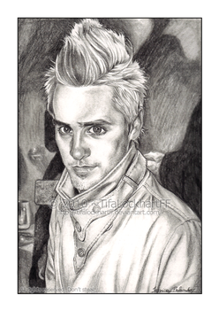 Jared Leto - Angel Face by ScarletMoonbeam