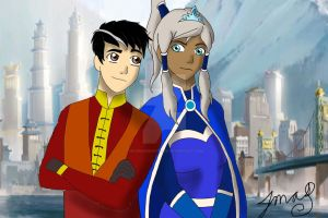 Avatar Frozen--For the first time in forever. by MaggiesHeartLove