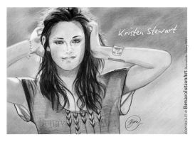 KRISTEN_STEWART_1DAY_2011 by BenavolutionArt