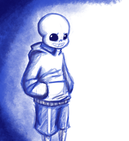 Hoodie Sans is Back by ForeverMuffin