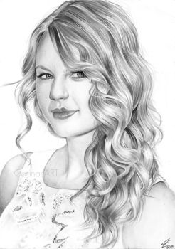 Taylor Swift - Forever and Always by BlueWelli