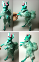OOAK Art Doll Commission by TotemEye
