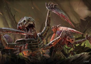 Tyranids by CarlHolden