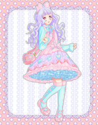 .:Colors of a Lolita:. Sweet by unicornsammich1