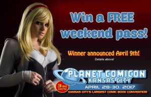 Planet Comicon! by OhMySophii