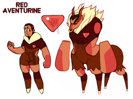 Red Aventurine Ref by dapcat