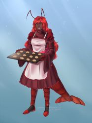 Commission: Lobster Mom by TomomiChan1