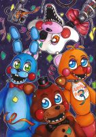 Five Nights at Freddy's poster [2] by Forunth