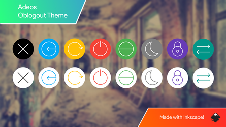 [Theme - Oblogout] Adeos by bruhensant