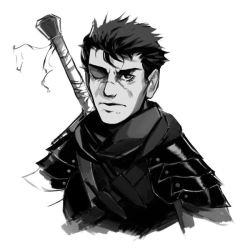 Guts sketch by AaronNSN