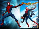 Homecoming Spider-Man for UMvC3 by Fewtch