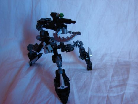 Bionicle MOC: Sentinel Turret by Mate397