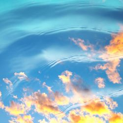 Water and Sky II by Tracys-Place