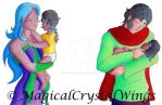 D-A: Side Quest 2 - Family by MagicalCrystalWings