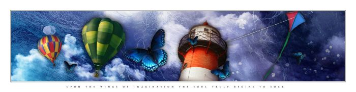 UPON THE WINGS OF IMAGINATION by UrbanCinderella