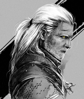 old witcher by Arkeresia