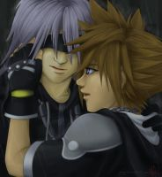Sora and Riku by Glay