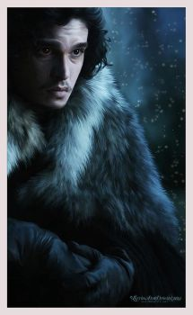 Jon Snow : Game of Thrones by RottonNymph