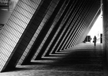 Tunnel of Light and Shadow by johnchan