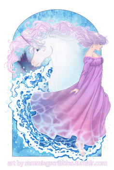 Last Unicorn by Roots-Love