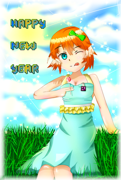 Happy New Year by DicedKey