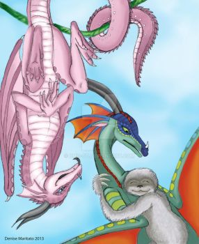 Wings of Fire - Jambu, Glory and Silver by DMD-CT