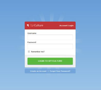 OptCulture - Login by Axertion