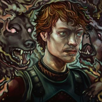 Theon by BedstrickenNicky