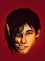 Eren Yeager by tabeck