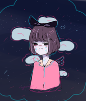 sad doodle ?????? by Nyanndere