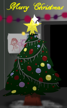 X-mas Tree Practice by SilverCandyDeath