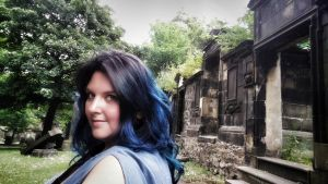 Edinburgh graveyard by FaerieFaith