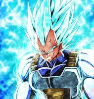 Vegeta Super Saiyan Blue by Kanon K by JyuNanohara