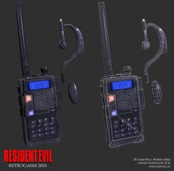 Jill's walkie talkie by Goraaz