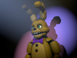 SpringBonnie (C4d Download) by 3D-Darlin