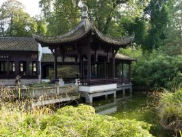 STOCK Chinese house 2 by Inilein
