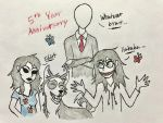 A very Happy 5 Year Anniversary to me by Revenir-Ghoul