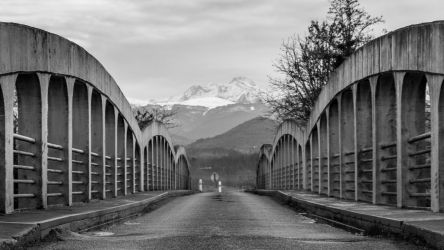 Bridge to the mountains II by eVolutionZ