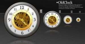 Icon. Old clock. by KriGH