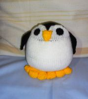 Peppi Penguin Hand knitted by Supach