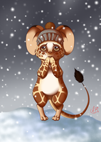 Everlance the apologetic mouse by DimsSib